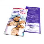 Children's Ministry Kids Camp Rack Card No Fold