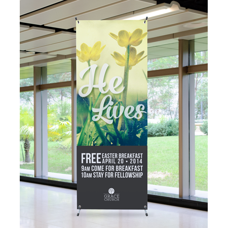Vinyl Banners  sc 1 st  Church Printing | Ministry Graphic Design & Church Banners | Custom Door Hangers | Print 4 Ministry